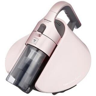 シャープ(SHARP)のSHARP 布団掃除機  ピンク(掃除機)