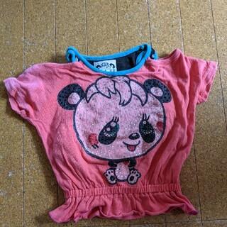 グラグラ(GrandGround)のグラグラ ビジューつき パンダ 半袖Tシャツ 80(Tシャツ)