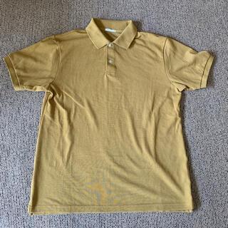 ジーユー(GU)のGUポロシャツからし色(ポロシャツ)