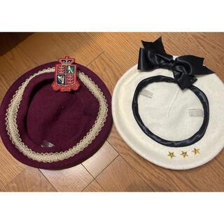 アンジェリックプリティー(Angelic Pretty)のangelic prettyベレー帽(ハンチング/ベレー帽)