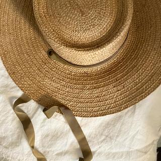ビューティアンドユースユナイテッドアローズ(BEAUTY&YOUTH UNITED ARROWS)のナナ様専用 ラメゾンドリリス帽子(麦わら帽子/ストローハット)