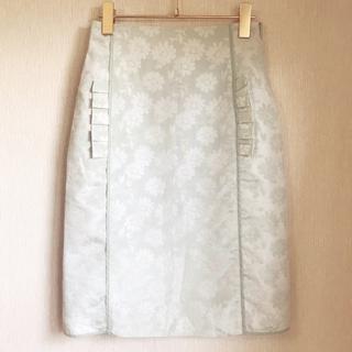 デイシー(deicy)のme & me couture ジャガード織スカート (ひざ丈スカート)