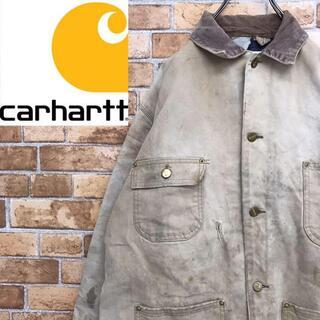 カーハート(carhartt)の【カーハート】ミシガンチョアコート ダックジャケット ブランケット ブラウン(カバーオール)