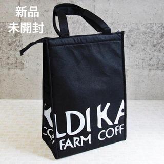 KALDI - カルディ 保冷バッグ エコバッグ ブラック KALDI 新品