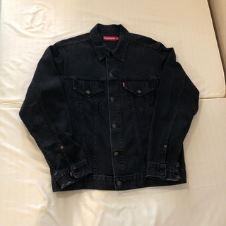 シュプリーム(Supreme)のSupreme Gジャン ブラック 黒 90's 00's ヴィンテージ 初期(Gジャン/デニムジャケット)