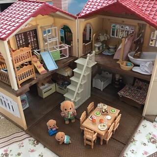 エポック(EPOCH)の◎シルバニアファミリー◎ 赤い屋根の大きなお家 家具(その他)
