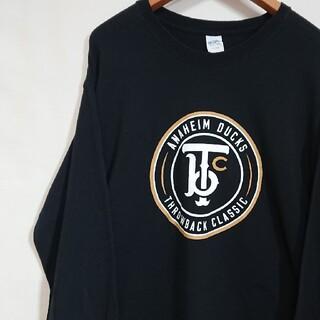 ギルタン(GILDAN)の☆US古着GILDAN/ブラック/ロングスリーブTシャツ(Tシャツ/カットソー(七分/長袖))