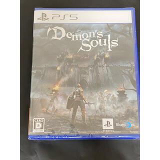 プレイステーション(PlayStation)のPS5 Demon's Souls デモンズソウル(家庭用ゲームソフト)