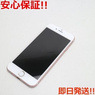 アイフォーン(iPhone)の美品 SIMフリー iPhone6S 16GB ローズゴールド (スマートフォン本体)
