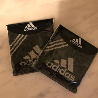 アディダス(adidas)のadidas ハンドタオル 2つセット(ハンカチ/ポケットチーフ)