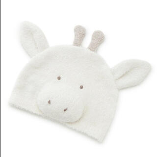 ジェラートピケ(gelato pique)のジェラートピケ キリン 帽子と靴下セットで(帽子)