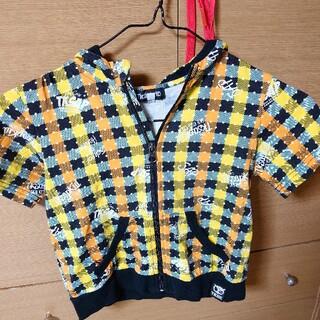 ティーケー(TK)のサイズ110 TKSAPKID 半袖パーカー(Tシャツ/カットソー)