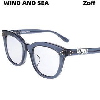 Zoff - Zoff×WIND AND SEA ウェリントン型サングラス