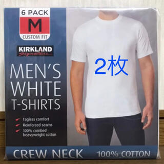 コストコ(コストコ)の新品 コストコ カークランド メンズTシャツ   2枚セット(Tシャツ/カットソー(半袖/袖なし))