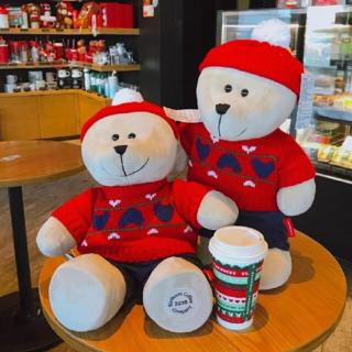 Starbucks Coffee - スターバックス中国限定 着脱可能ホリデー クリスマス べアリスタ