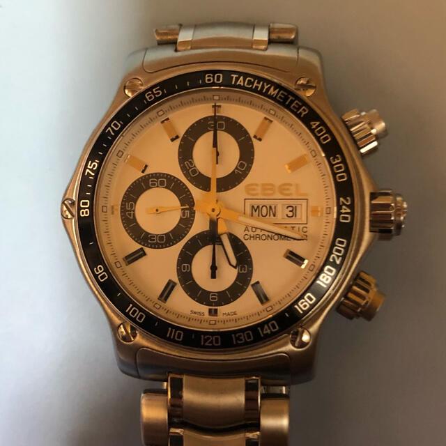 EBEL(エベル)のエベルディスカバリー クロノメーター 本日限りの最安値 メンズの時計(腕時計(アナログ))の商品写真