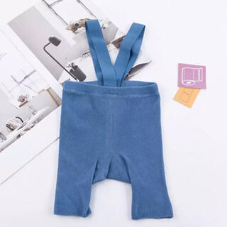 ボンポワン(Bonpoint)のシリーサイラス風ショーティ S.M ブルー ショートパンツ(靴下/タイツ)