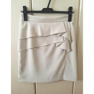 オフオン(OFUON)のOFUON♡ペプラム風タイトスカート(ひざ丈スカート)