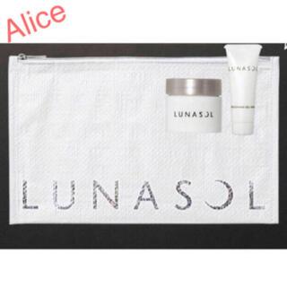 LUNASOL - VoCE 10月号 付録 LUNASOL ファンデーション 洗顔 ポーチセット