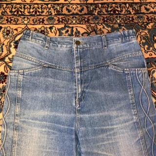 ジャンポールゴルチエ(Jean-Paul GAULTIER)のDesign Denim Pants(デニム/ジーンズ)