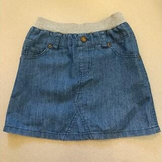 チャオパニックティピー(CIAOPANIC TYPY)のデニム風 スカート 110~120cm(スカート)