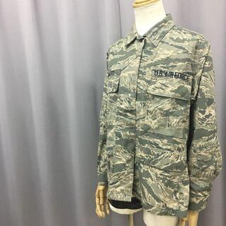 スイスミリタリー(SWISS MILITARY)のミリタリージャケット デジタルカモフラージュ 総柄 U.S.AIR FORCE(ミリタリージャケット)
