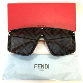 FENDI - 新品 FENDI トータスシェル シールド サングラス
