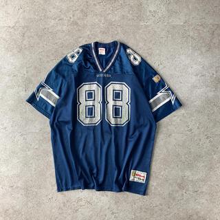 ウィルソン(wilson)のWilson USA製 COWBOYS アメフト ゲームシャツ IRVIN選手(アメリカンフットボール)