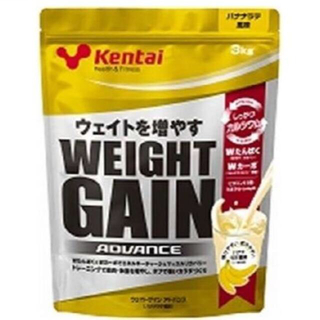 ケンタイ(Kentai)のKentai ケンタイ ウェイトゲイン アドバンス バナナラテ風味 3kg(トレーニング用品)