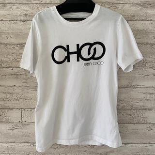 ジミーチュウ(JIMMY CHOO)のJimmy choo ロゴTシャツ 白 ホワイト ジミーチュウ(Tシャツ(半袖/袖なし))