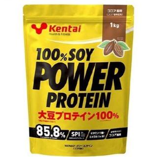 ケンタイ(Kentai)のKentai ケンタイ 100% SOY パワー プロテイン ココア 1kg(トレーニング用品)