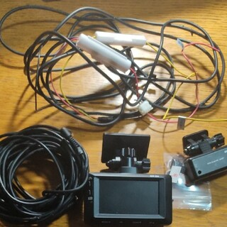 コムテック ZDR026 ドライブレコーダー 前後カメラ 音声故障
