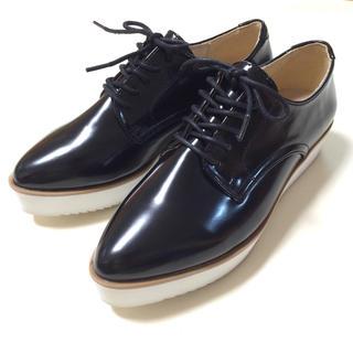 ジーユー(GU)のGU オックスフォードレースアップシューズ☆M(ローファー/革靴