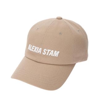 アリシアスタン(ALEXIA STAM)のALEXIA STAM  新作 ベージュキャップ(キャップ)
