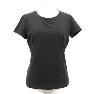 ロロピアーナ(LORO PIANA)のロロピアーナ 42 L Tシャツ カットソー 半袖 黒 ブラック /TK ■EC(Tシャツ(半袖/袖なし))