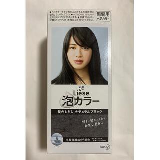 リーゼ(liese)の花王 Liese 泡カラー 髪色もどし ナチュラルブラック(カラーリング剤)