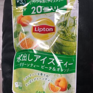 リプトン 水出し 紅茶 ティーパック アイスティー グリーンティー(茶)