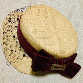 ヴィクトリアンメイデン(Victorian maiden)のアノンハット 帽子(ハット)