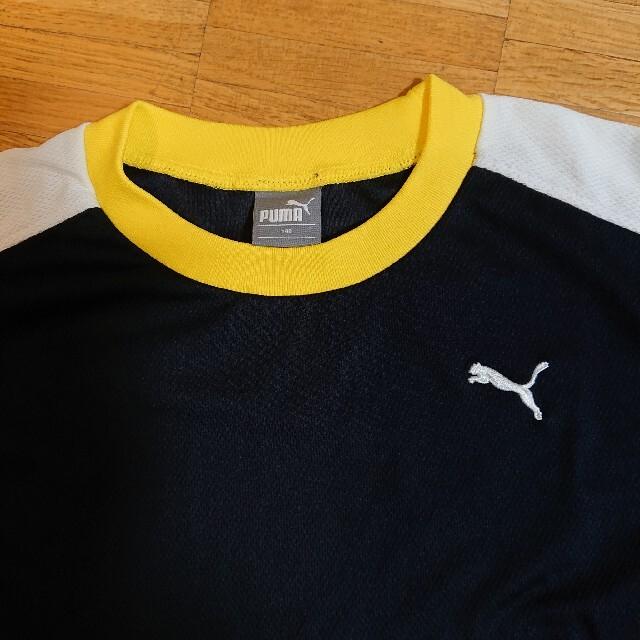 PUMA(プーマ)のお値下げ!プーマ140サイズ上下セット スポーツ/アウトドアのサッカー/フットサル(ウェア)の商品写真