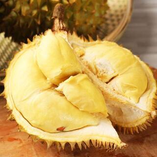 激レア 新鮮ドリアンフルーツ3個7.5-8.0kg(フルーツ)