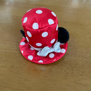 ディズニー(Disney)のミニー帽子 ヘアピン付き(ヘアピン)