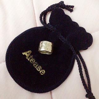 アティース(Atease)のAtease TATAKI PLATE RING/L 5.5号(リング(指輪))