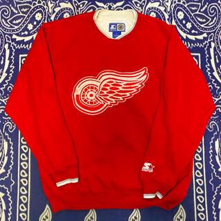 シュプリーム(Supreme)の2pac着用STARTER製 Vintage Detroit Red Wings(トレーナー/スウェット)