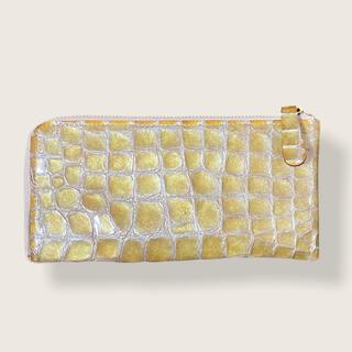 アンメートルキャレ(1metre carre)のアンメートルキャレ 型押し長財布(財布)