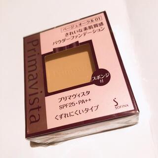プリマヴィスタ(Primavista)のプリマヴィスタ きれいな素肌質感 パウダーファンデーション BO01 SPF25(ファンデーション)