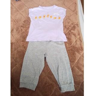 ジーユー(GU)のGU ジーユー 子供用半袖パジャマ くまのプーさん(パジャマ)