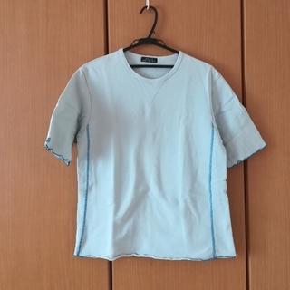 サンタモニカ(Santa Monica)の水色Tシャツ(Tシャツ/カットソー(半袖/袖なし))
