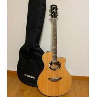 ヤマハ(ヤマハ)のYAMAHA APX500III エレアコ ソフトケース等付き(アコースティックギター)