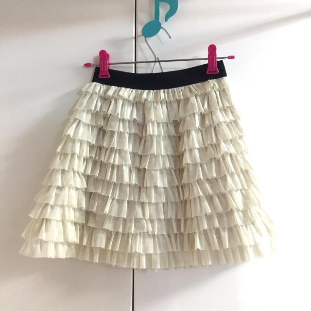 MERCURYDUO(マーキュリーデュオ)の【美品】MERCURYDUO ミニ丈チュールスカート レディースのスカート(ミニスカート)の商品写真