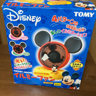 ディズニー(Disney)のタカラトミー 卓上扇風機 ミッキー扇風機(扇風機)